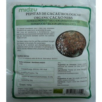 Organic cocoa Nibs 100g
